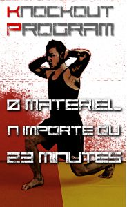 KNOCKOUT PROGRAM programme d'interval training