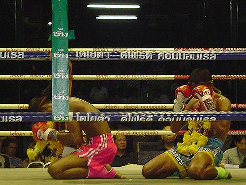 Cérémonie Muay Thai