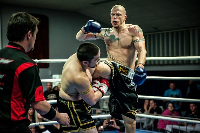 Muay Thai combat