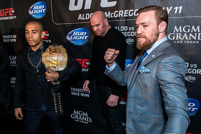 José Aldo vs Conor McGregor