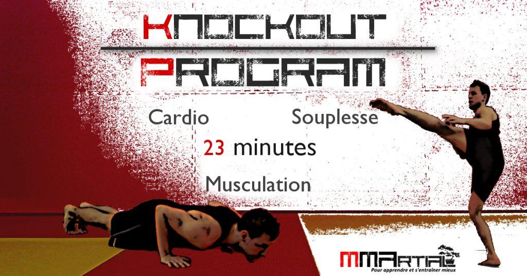 KNOCKOUT Program : programme de sport à la maison