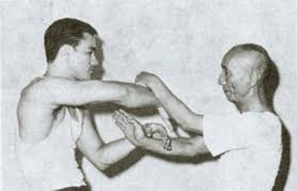 Bruce Lee et Yip Man