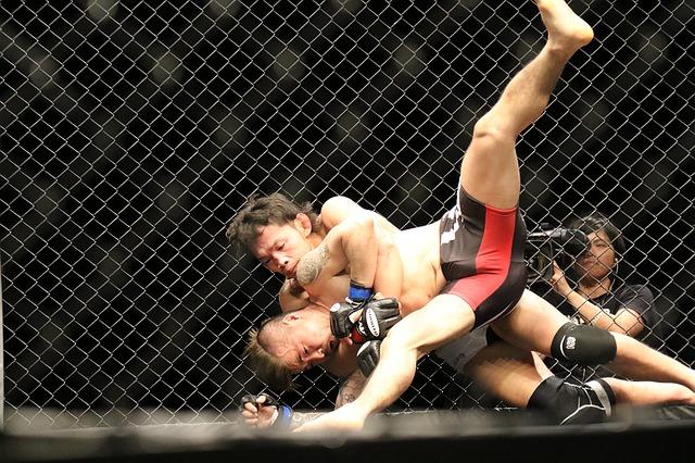 takedown en MMA