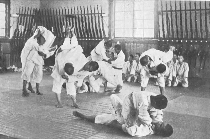 Ecole de jujitsu traditionnel ancienne au Japon