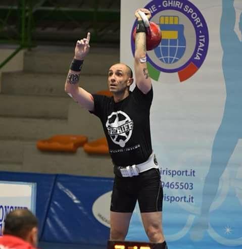 Stéphane Dauvergne Dogman, champion du monde de kettlebell sport