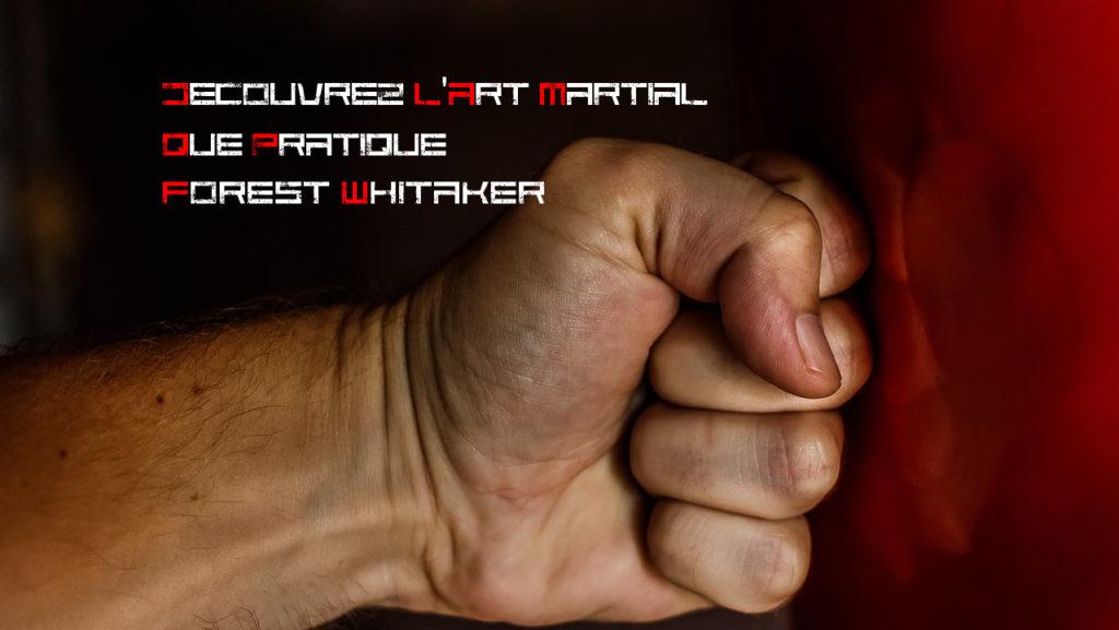 Decouvrez l'art martial que pratique Forest Whitaker