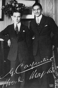 Chaplin et Carpentier