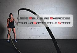 Les 10 meilleurs exercices pour la santé et le sport