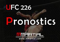 UFC 226 pronostics