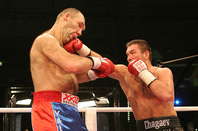 Boxe anglaise Valuev vs Chagaev