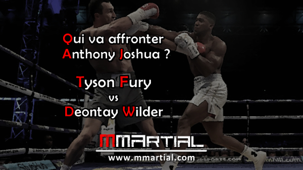 Wilder vs Fury : Qui va affronter Anthony Joshua ?