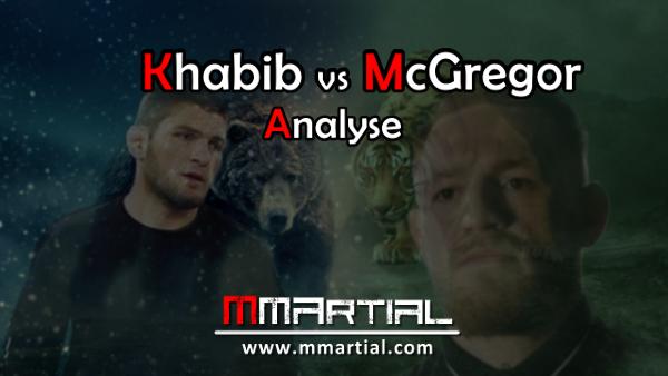 Khabib vs McGregor Analyse du combat