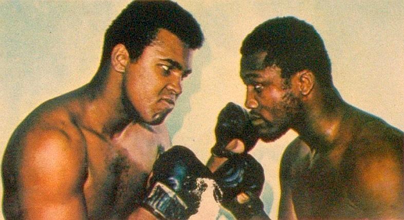 Mohamed Ali vs Joe Frazier
