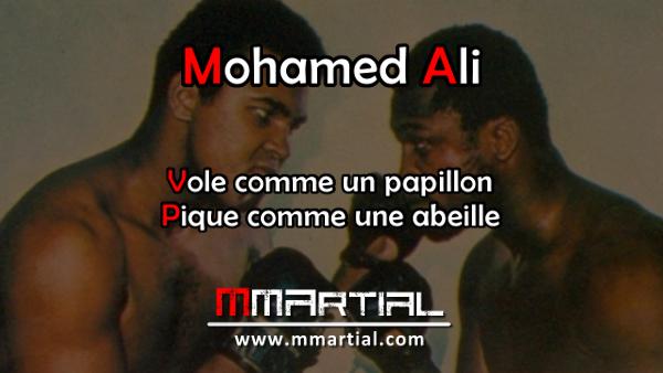 Mohamed Ali Vole comme un papillon pique comme une abeille