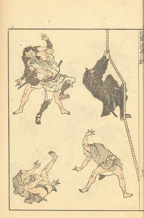 Disciplines du ninjutsu