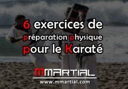 6 exercices de préparation physique pour le Karaté
