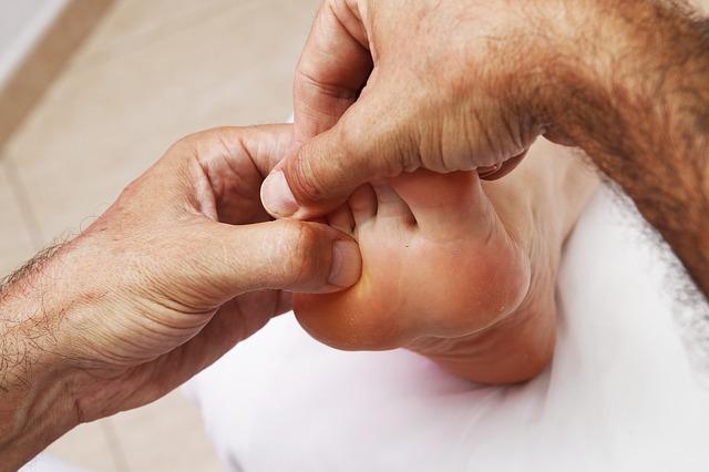 Réflexologie massage