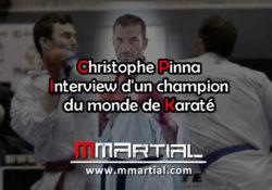 Christophe Pinna : Champion du monde de Karaté