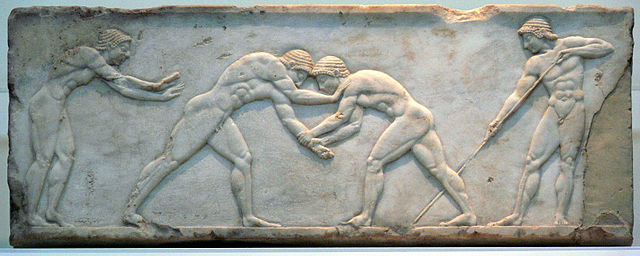 Lutte Grèce antique