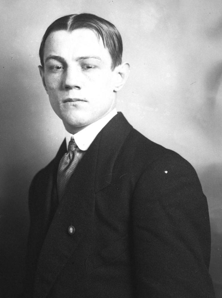 Eugene Criqui portrait