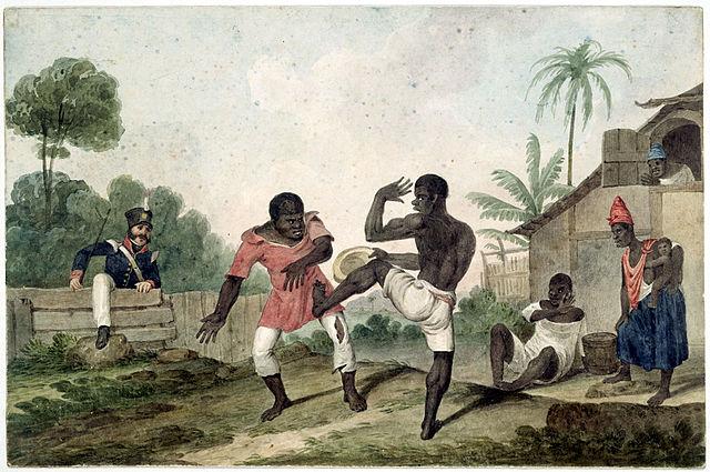Les esclaves angolais à l'origine de la capoeira