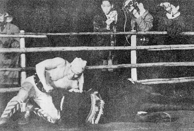 Combat de Masutatsu Oyama avec un taureau