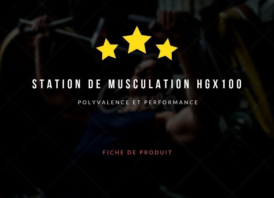 Station de musculation HGX100