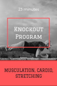 KNOCKOUT program affiche