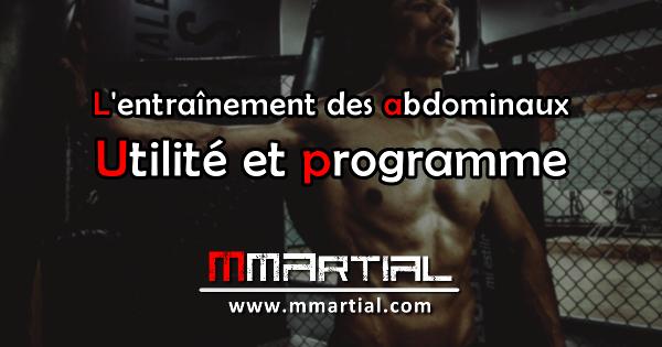 L'entraînement des abdominaux pour les arts martiaux et les sports de combat