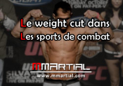 Le weight cut dans les sports de combat