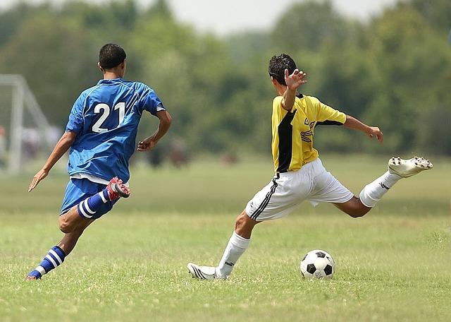 Tir de football : Sollicitation des abdominaux