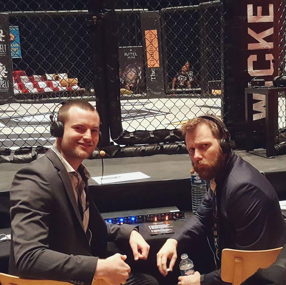 Chris Genachte et Dan Gagnon