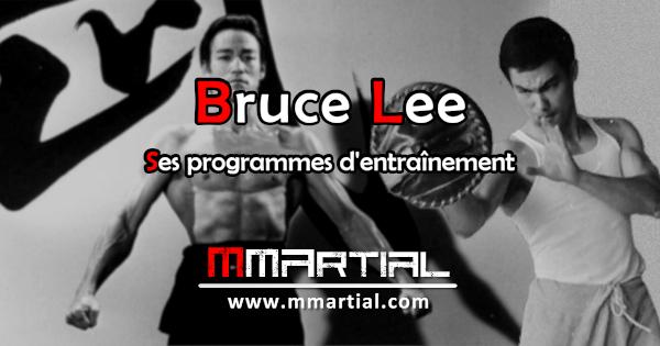 Bruce Lee : ses programmes d'entraînements