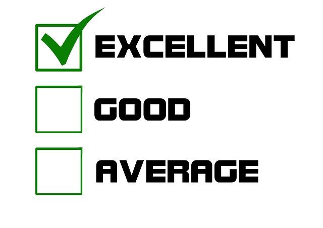 Pensées percutantes : excellence qualité