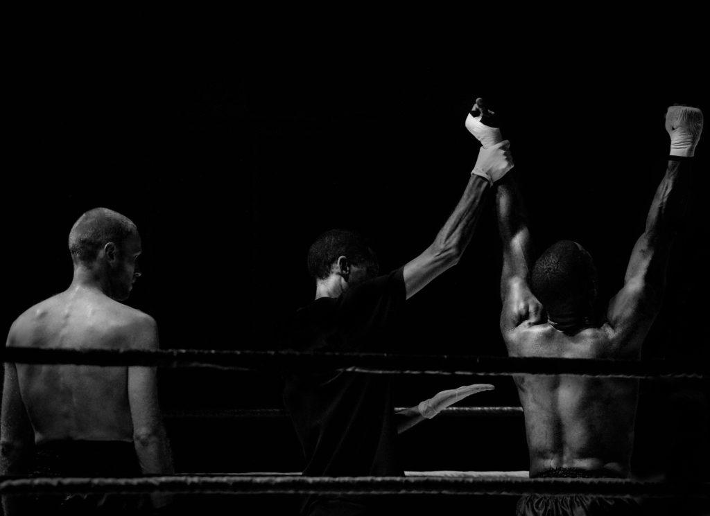 Victoire en boxe