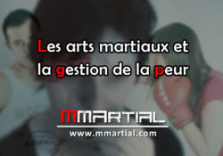 Les arts martiaux et la gestion de la peur