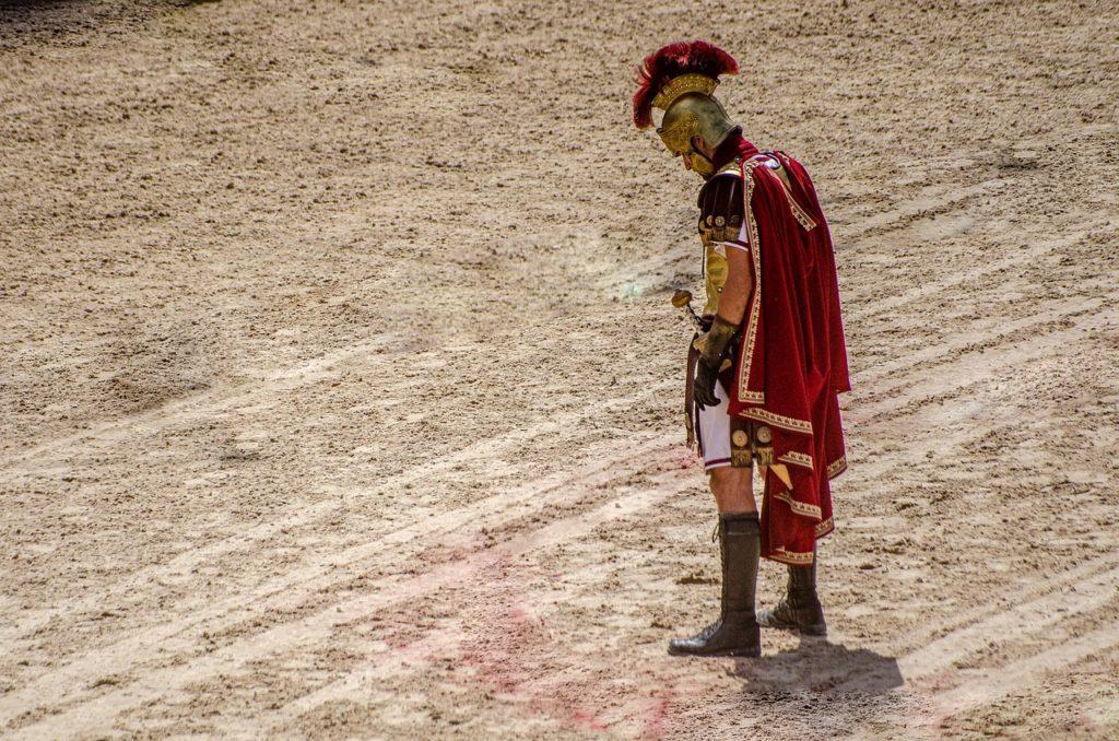 Gladiateur romain