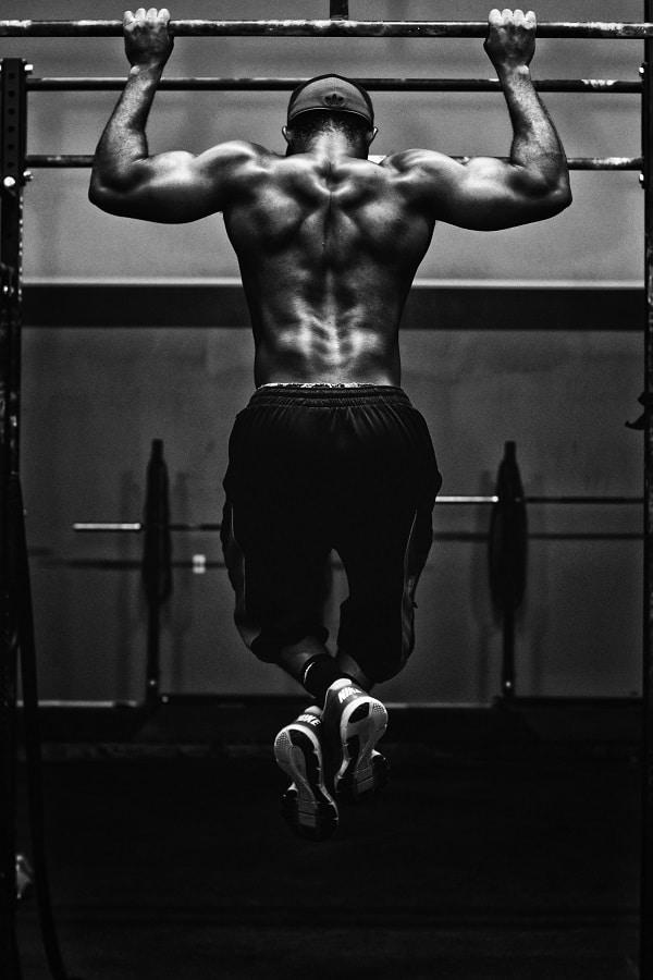 Traction - entraînement de MMA