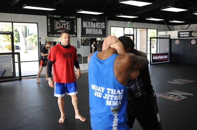Entraînement de MMA