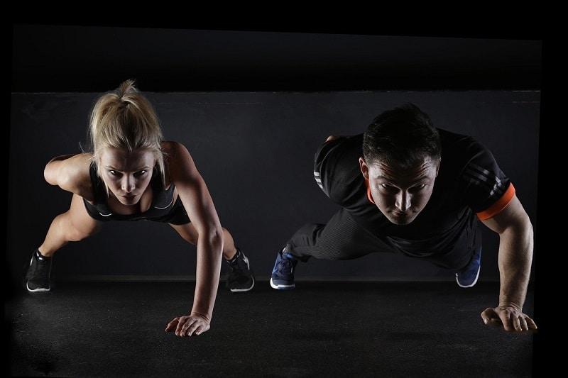 Pompes - entraînement de MMA
