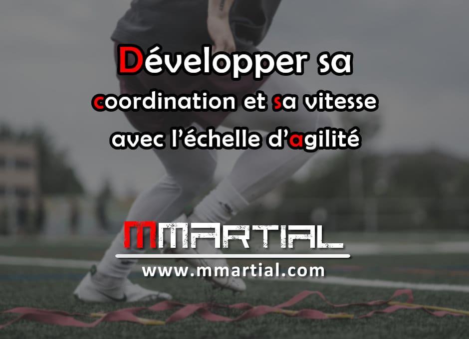 Développer sa coordination et sa vitesse avec l'échelle d'agilité